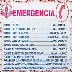 Llamar a Call celestial para las siguientes emergencias.