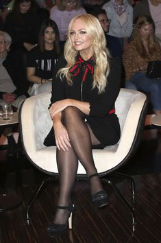Emma Bunton`s Legs and Feet in Tights 16 Pantyhose Outfits, Pantyhose Legs, Celebrities In Stockings, Celebrity Stockings, Emma Bunton, Baby Spice, Cute Skirt Outfits, Girls In Mini Skirts, Sexy Older Women