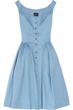 Vivienne Westwood Anglomania Pannier Cotton Dress. I need to find a knock off of this one cause I am in love!