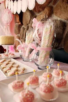 Princess party ideas... love the bags of crowns and jewels for the girls to wear