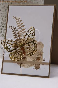 butterfly basics card by Kerstin Greiner
