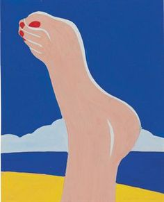 Tom Wesselmann (1931-2004) | Study for Seascape Foot