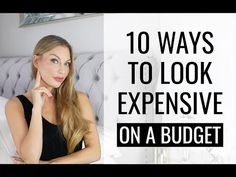 Here are 9 crucial tips for how to look expensive and sophisticated no matter your budget. When you're planning on your working or daily wardrobe there's only one thing you want to figure out: how to look expensive on a budget How To Look Rich, How To Look Classy, Look Cool, That Look, Dress Stores Near Me, Prom Dress Stores, How To Look Expensive, Expensive Clothes, Elegant Cocktail Dress