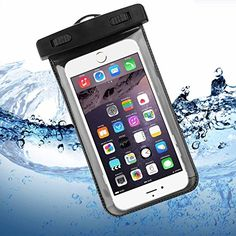 Waterproof Case, ENGIVE Waterproof Pouch Bag Case for iPhone 6 Plus/6/5s/5/5c, Samsung Galaxy S6/S6 EDGE/S5/S4/NOTE 4/3/2, HTC ONE M9/M8/M7, SONY Z4/Z3/Z2, Google Nexus 6/5/4, Smartphone Waterproof Protector for Boating/Hiking/Swimming/Diving ENGIVE http://www.amazon.com/dp/B00YE468T0/ref=cm_sw_r_pi_dp_TV6Dvb0VTDA3Q