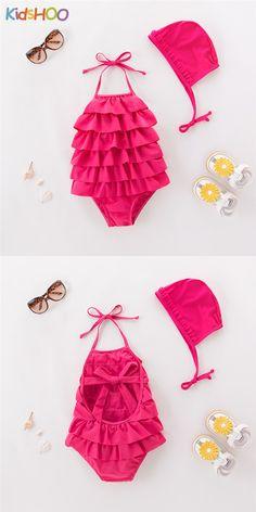 Crazy 8 NWT 2-piece Pink FLOWER APPLIQUE DRESS BIKINI SWIMSUIT 6 9 12 Months