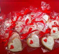 Galletas de corazon para San Valentín