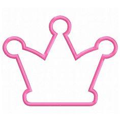 unique machine embroidery applique king's crown | Digitizing Dolls Crown 6 Applique Machine Embroidery Design 4x4 5x7 ...