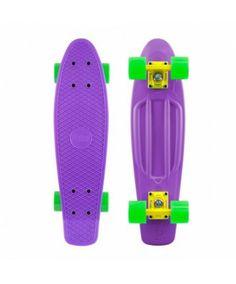 penny 22 inch skateboard,twenty two inch,purple,green