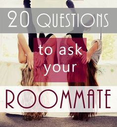 It is extremely important to get to know what kind of person your roommate is before you decide to live with them. If you have already decided on a roommate and forgot to ask them these questions for your roommate, don't worry! You can still bring them up now if you feel it is necessary.Living […]