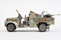 Build Complete: #11 Tamiya Chevy 30 CWT LRDG Truck (Scorpion Conversion) WIP - FineScale Modeler - Essential magazine for scale model builders, model kit reviews, how-to scale modeling, and scale modeling products