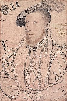 William Parr,1st Marquess Of Northampton (1513-1571) One of the most important men in Edward's Court especially during the time of John Dudley, 1st Duke of Northumberland. Parr and especially his wife Elisabeth Brooke, were leaders in the attempt to put lady Jane Grey on the throne after Edward's death. He was convicted of high treason by Mary I but had his sentence commuted. Elizabeth I restored his titles and he subsequently married Helena Snakenborg from Sweden, a lady in waiting to the…