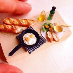 a bitty breakfast spread