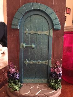 Fairy Door by ThePeanutExpress on Etsy