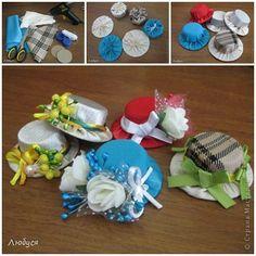 9e6800d6a33 DIY Cute Hat Hair Clip out of Plastic Cap