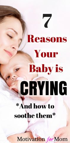 The ultimate guide on how to soothe a fussy baby. There are 7 reasons why babies cry. Learn to identify why your baby's crying so you can calm them easily! Baby Crying Images, Baby Crying Face, Crying Kids, Newborn Baby Tips, Newborn Needs, Newborn Twins, Parenting Books, Gentle Parenting, Parenting Plan