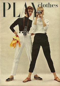 Play Clothes - 1954 Charm Magazine