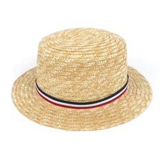 Chapeau de paille Canotier #style #menstyle #accessoires #chapeau #look #mode #homme