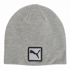 a66d2bf55c3b9 Beneift from an excellent snug custom fit with this incredible warm and  comfortable womens cat patch golf beanie hat by Puma!
