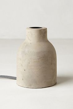 Paved Vase Lamp Base  #anthropologie