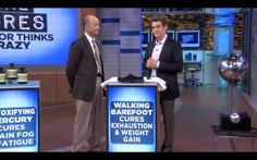 Can Earthing Cure Exhaustion and Weight Gain?  The Power of Earthing with Dr. Oz and Dr. Mercola