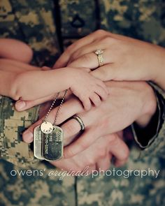 Pic idea for Austin- perhaps something he could do to serve those in the military via his photography!