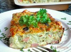 Zucchini casserole that is addictive Top-Rezepte. - Zucchini casserole that is addictive Top-Rezepte.de Zucchini casserole that i - Raw Food Recipes, Easy Dinner Recipes, Healthy Recipes, Pizza Recipes, Summer Recipes, Zucchini Casserole, Casserole Recipes, Inexpensive Meals, Easy Meals