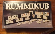 Sealed 80s Original RUMMIKUB Game by Pressman New Old Stock #400 Copyright 1980…