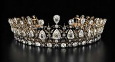 Arts Council England/Sotheby's Breaking tiara news today: the Fife Tiara, one of the most glittering, classic nineteenth-century tiara...
