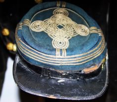 Custer's forage cap that he worn in the Civil War.