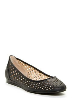 Saphire Perforated Flat by Calvin Klein on @HauteLook