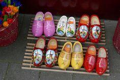 Dutch wooden shoes for sale as a souvenir in shop | by Pierino Smaniotto
