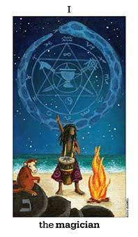 May 16 Tarot Card: The Magician (Sun & Moon deck) Your life is in your hands. Your mind, body, and soul are connected now, providing you the inspiration and skills you need to create something incredible