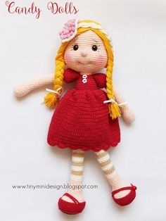 Irresistible Crochet a Doll Ideas. Radiant Crochet a Doll Ideas. Crochet Teddy, Love Crochet, Diy Crochet, Crochet Baby, Crochet Doll Pattern, Crochet Patterns Amigurumi, Amigurumi Doll, Easy Crochet Patterns, Knitted Dolls