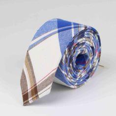 Soft Mens Fashion Diamond Check Artificial Wool Cotton Striped Skinny Ties Men business Small Ties Designer Cravat No.1-21