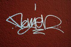 ejemplo de tag, una de las tres formas del art graffiti