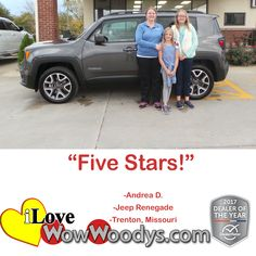 """Five Stars!""  Andre"