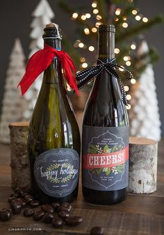 DIY Wine Labels