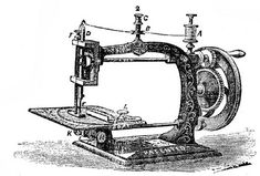 *The Graphics Fairy LLC*: Free Vintage Clip Art - Dress Forms and Sewing Machines