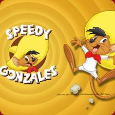 Speedy Gonzales is an animated caricature of a mouse in the Warner Brothers Looney Tunes and Merrie Melodies series of cartoons. Old School Cartoons, Old Cartoons, Classic Cartoons, Disney Cartoons, Looney Tunes, Cartoon Shows, Cartoon Tv, Cartoon Characters, Bugs Bunny