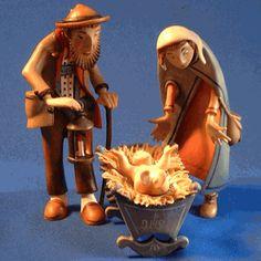 Kastlunger Holy Family Italian Nativity Scene
