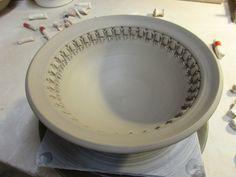 bowl A stamped