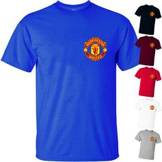 Manchester United LOGO V1m Football Club Primer League T Shirt All sizes S-5XL #fashion #clothing #shoes #accessories #menscloth