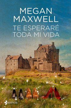 """escritora española, Megan Maxwell, romántica, contemporánea, viajes en el tiempo, """"Te esperaré toda mi vida"""","""