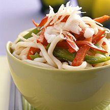 Asian Noodle Peanut Salad