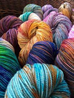 sock yarn ellofiberarts - Coloring Book Yarns