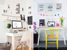 post com ideias para decorar home office