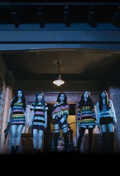Red Velvet Group photo Peek-A-Boo #PerfectVelvet comeback concept photo high quality Irene Wendy Seulgi Joy Yeri