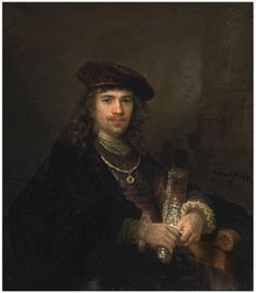 Rembrandt and Studio, Man with a Sword, 1644. Sold at Christie's, London for $4,176,260 in Dec. 2013