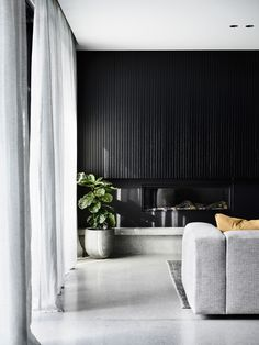 The artistic technique of chiaroscuro inspired and guided the design language of Casa Chiaroscuro, as we contrasted the beauty of black and the splendour of light to create a modern, minimal and beautiful family home.