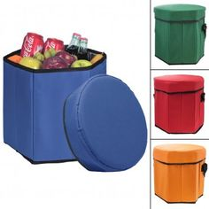 Sit on a throne of cool drinks and fresh food at your next outdoor get-together with this Insulated Cooler Seat!